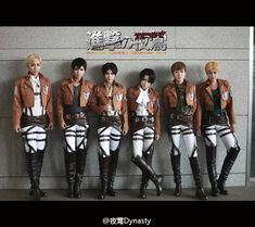 """Attack on Titan"" cosplay by Nightmare Dynasty. I would definitely Cosplay the Survey Corps uniform!!"