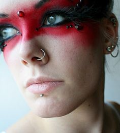 bout makeup inspiration??? just got MUFE #99 so perhaps, perhaps...