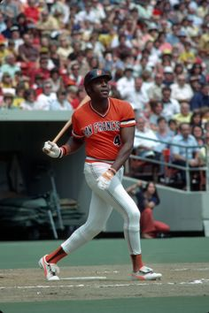 Willie McCovey in white spikes