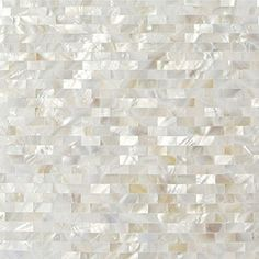 Dazzle Mosaic Mother Of Pearl Shell Mosaic Tile For Kitchen Backsplashes /  Bathroom Tile, White