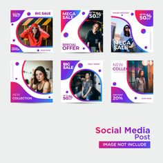 Fashion social media template Premium Ve. Social Media Poster, Social Media Branding, Social Media Banner, Social Media Template, Social Media Design, Social Media Graphics, Web Design, Web Banner Design, Instagram Banner