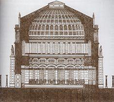 19TH CENTURY, Neo-Classicism, Germany - Leo Von Klenze (1784-1864): The Befreiungshalle, 1842-63, near Kelheim.