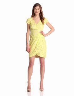 Amazon.com: Eliza J Women's Cap Sleeve V-Neck Dress: Clothing