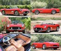 1961 Ferrari 250 GT SWB California Spyder at Pebble Beach