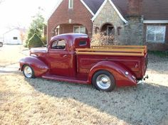 1940 Ford Custom Pickup. Beautiful.