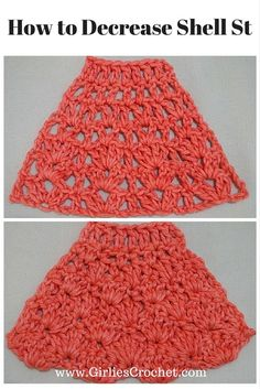 Instructions how to decrease for sleeves and shaping around neck in crochet ...