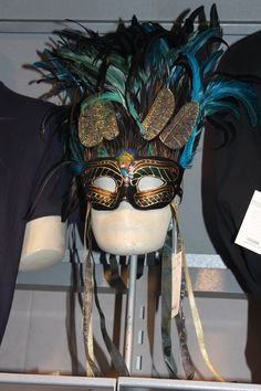 GORGEOUS Cirque Du Soleil mask, concession tent ... $325 as I remember it ....  so I took the picture home instead ....