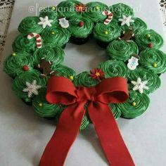 Guirlanda de cupcakes