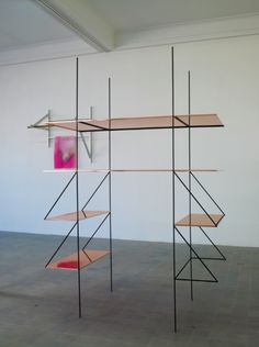 Shelves copper Bojan Sarcevic