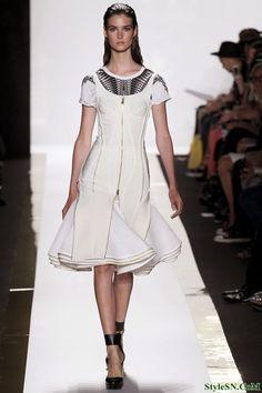Petite runway couture