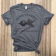 72c78cb6 Schrute Farms Shirt,Dunder Mifflin T-Shirt, The Office Shirt,Dwight Schrute