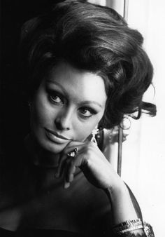 """""""If you haven't cried, your eyes can't be beautiful."""" - sophia loren"""