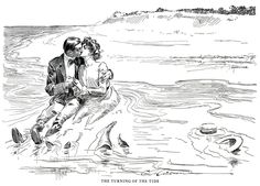 The Best Drawings of Charles Dana Gibson via thefindesiecle.