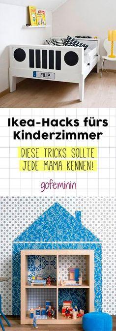 Ein individuelles Kinderzimmer mit IKEA Möbeln? Das geht! Hier kommen 5 geniale IKEA Hacks fürs Kinderzimmer!