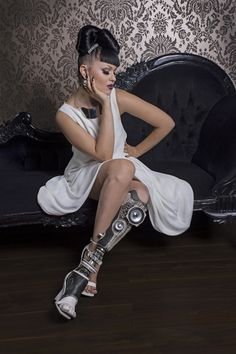 """Sophie de Oliveira Barata: The Alternative Limb Project """"Rather than people seeing what's missing, it's about what they've got."""" """"Having an alternative limb is about claiming control and saying 'I'm an individual and this reflects who I am."""""""