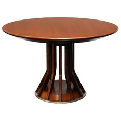 1stdibs - 1950 Walnut Pedestal Table