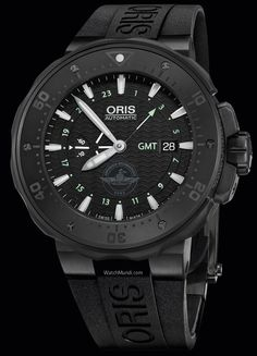 Oris - Force Recon GMT. Oris becomes the official partner of the United States Marine Corps Force Reconnaissance.