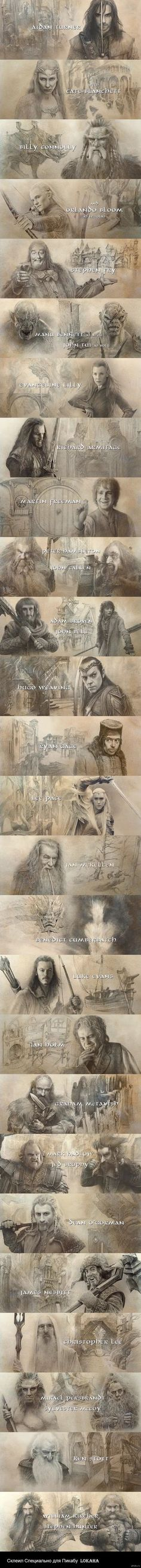 BOFA Ending credits. These were beautiful. And with The Last Goodbye....: