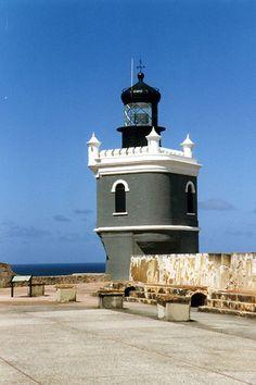 Puerto Rico - El Viejo San Juan: El Castillo San Felipe del Morro Paint it