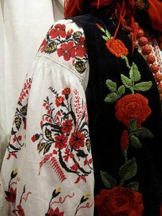 "Ukrainian embroidery. Dnipro Region 'sorochka' and embroidered women's vest 'korsetka"". Українська вишита сорочка та керсетка."