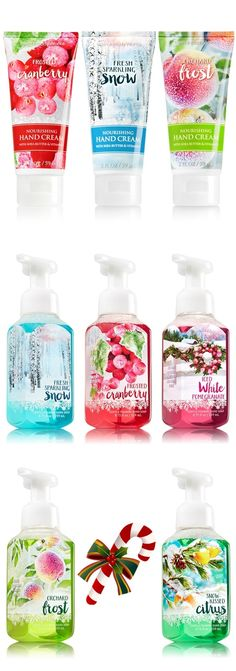 Bath and Body Works Winter 2015 Hand Soaps and Hand Creams