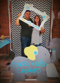 https://www.facebook.com/Saras-Kooky-Creations-1685889525013732/   little peanut baby shower photo booth, Props & frame by Sara's Kooky Creations.
