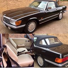 """❤️Classic wanted cars❤️ on Instagram: """"I love this 1987 Mercedes Benz 300SL R107  #mercedes #benz #r107sl #classiccars #germen #500sl #560sl #280sl #300sl #420sl #380sl #350sl…"""""""
