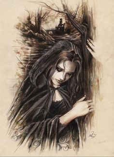 Random Victoria Frances Gothic Artworks: Sit Back and Enjoy the Show! | Phi Stars