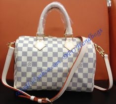 Louis Vuitton Damier Azur Speedy Bandouliere 25 sale at - Free Worldwide shipping. Get today Louis Vuitton Damier Azur Speedy Bandouliere 25 Lv Handbags, Louis Vuitton Handbags, Fashion Handbags, Louis Vuitton Speedy Bag, Louis Vuitton Damier, Designer Handbags, Vuitton Bag, Cowhide Leather