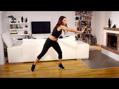 Fatburning Dance Power Steps - Kalorien verbrennen mit Amiena Zylla - YouTube