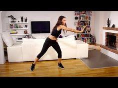Fatburning Dance Power Steps - Kalorien verbrennen mit Amiena Zylla - YouTube