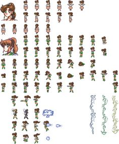 PGSM: Another story sprite sheets