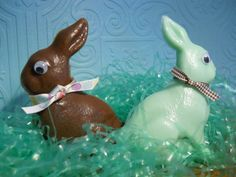 Easter Bunny Chocolate Soap by Sweetturquoise on Etsy, $6.00