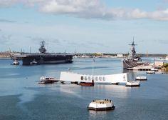 File:USS Abraham Lincoln (CVN-72) manning rails for USS Arizona.jpg