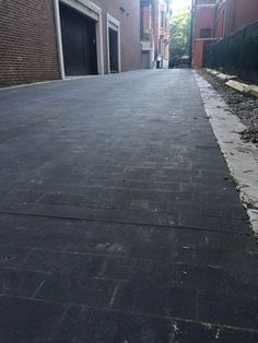 All of Chicago's wood-paved streets are long gone but two alleys remain