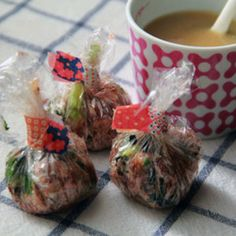 忙しい朝はお湯をとくだけに!作り置きしたい「スープ玉」レシピ5選   レシピブログ - 料理ブログのレシピ満載! Easy Cooking, Japanese Food, Meal Prep, Menu, Soup, Sweets, Breakfast, Tableware, Desserts