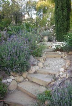 Stairs stone design