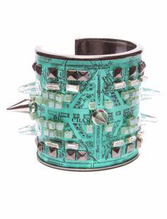 Bijoux De Famille Manchette Tour Eiffel Cuff