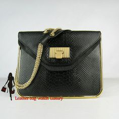 chloe replica - Replica Chloe Classic 1836 Ladies Handbag Snake Leather