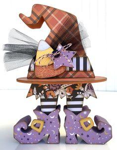Arts And Crafts Halloween Ideas Halloween Wood Crafts, Halloween Painting, Dog Halloween Costumes, Halloween Patterns, Diy Halloween Decorations, Halloween Art, Halloween Witches, Happy Halloween, Witches Woods