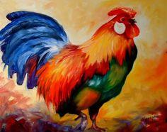 """Rooster Rick"" par Marcia Baldwin"