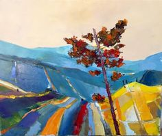 NEW Le PIn Foudroyé by Caudron. 22x18. Visit The Westport River Gallery for more of Caudron's work.