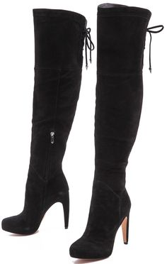 Hilary Duff's Sam Edelman 'Kayla' Over The Knee Boots - Red Carpet ...