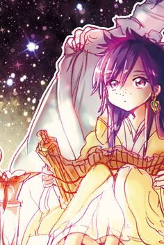 young Koumei Ren Magi: The Labyrinth of Magic
