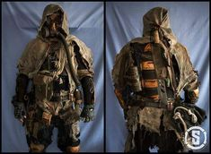 Risultati immagini per costumes ideas post apocalypse Fallout, Apocalypse Costume, Gas Mask Art, Post Apocalyptic Costume, Wasteland Weekend, Mad Max Fury Road, Scary Halloween Costumes, Halloween Ideas, Stuff And Thangs