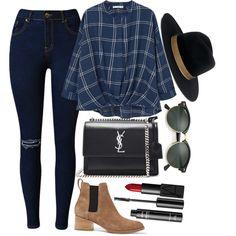 MANGO blouses, rag & bone ankle booties and Yves Saint Laurent shoulder bags.