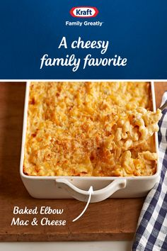 Make this delicious Kraft Elbow Mac and Cheese for a cozy family dinner. Tap the Pin to get the recipe. Macaroni And Cheese Casserole, Macaroni Cheese Recipes, Casserole Dishes, Casserole Recipes, Crockpot Recipes, Cooking Recipes, Mac And Cheese Recipe Kraft, Macaroni And Cheese Kraft, Baked Macaroni