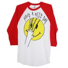 Have A Nice Day Raglan | Burger And Friends