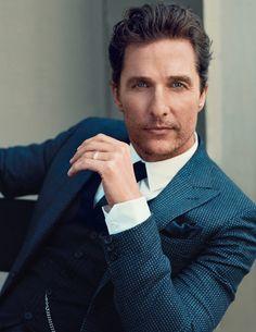 Matthew McConaughey para GQ UK Diciembre 2014 por Norman Jean Roy