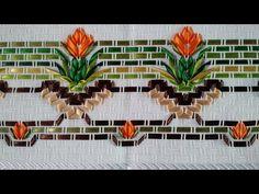 Tutorial Vagonite com fitas de cetim - segunda parte - YouTube